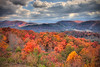 Foothills Parkway in Flame