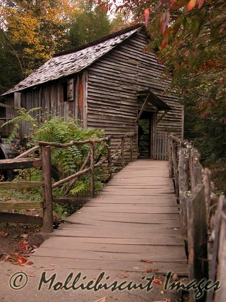 Mill walkway.
