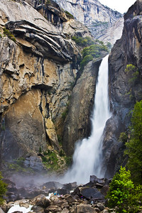 HDR Image of Lower Yosemite Falls