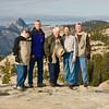 The Halfdome Gang at Olmstead Point 2009<br /> L to R: Dwain Shaw, Bob Watters, Myron Rice, Tom Pope & Tom Gallien