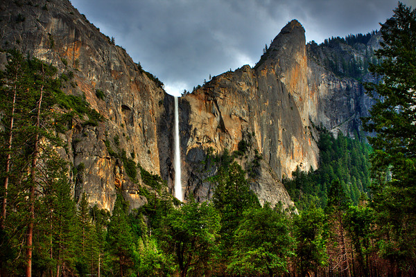 HDR Image of Yosemite Falls