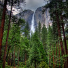 Storm Brewing over Yosemite Falls