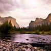 El Capitan, Bridalveil Falls and the Merced River