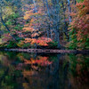 Fall reflections in the water