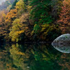 Calm water and Fall colors