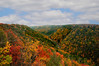"""Looking upriver at Blackwater river Gorge in fall from Pendleton Point <a href=""""http://dan-friend.artistwebsites.com/index.html"""">http://dan-friend.artistwebsites.com/index.html</a>"""