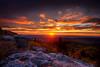 Sunrise at dolly sods at Bear rocks