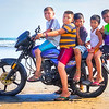 DSC07598 David Scarola Photography, 5 Boys Riding a motorcycle on a beach in Jiquilillo Nicaragua, sep 2017