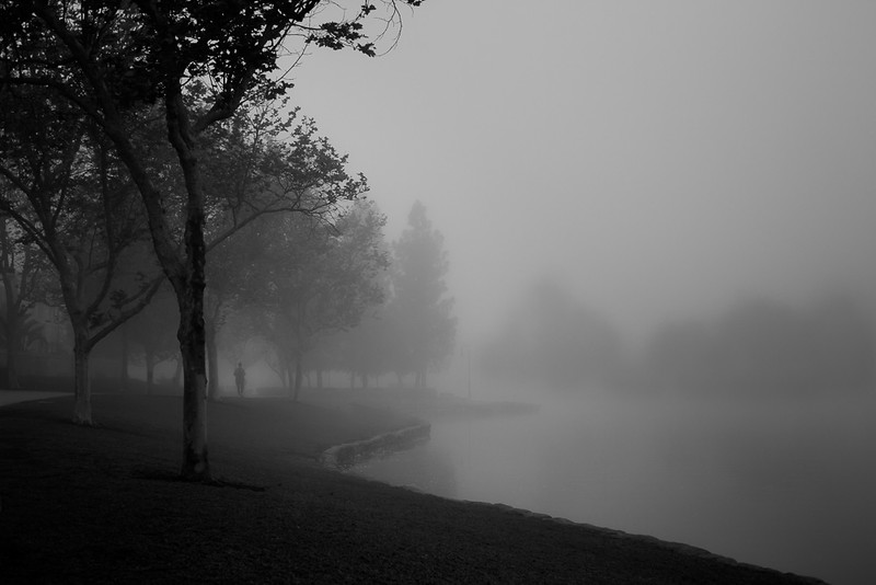 Rancho Santa Margarita Foggy Lake
