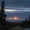 Sunset Bear Valley Alaska