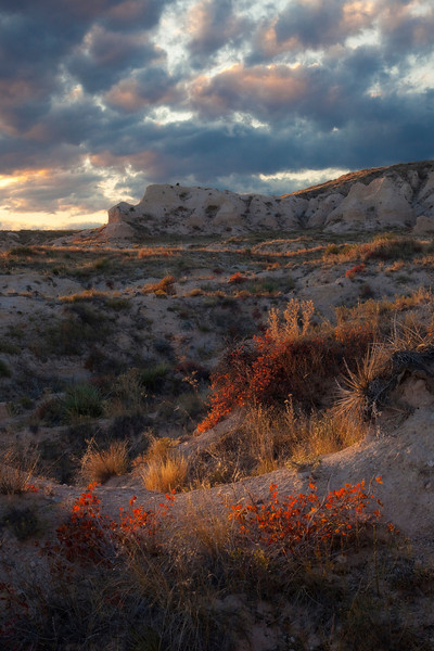 """SUNSET OVER COYOTE COUNTRY"""