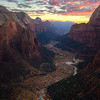 """ANGEL'S VIEW OF ZION"""