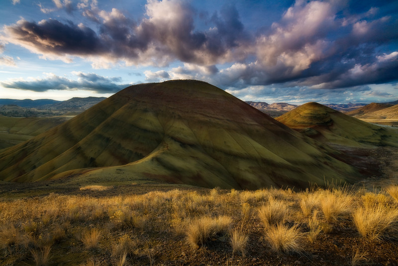 """PAINTED HILLS SUNSET"""
