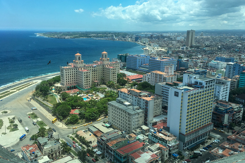 Havana from above