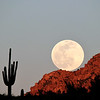 Feb 2020 Supermoon Rising Apache Tears Superior AZ