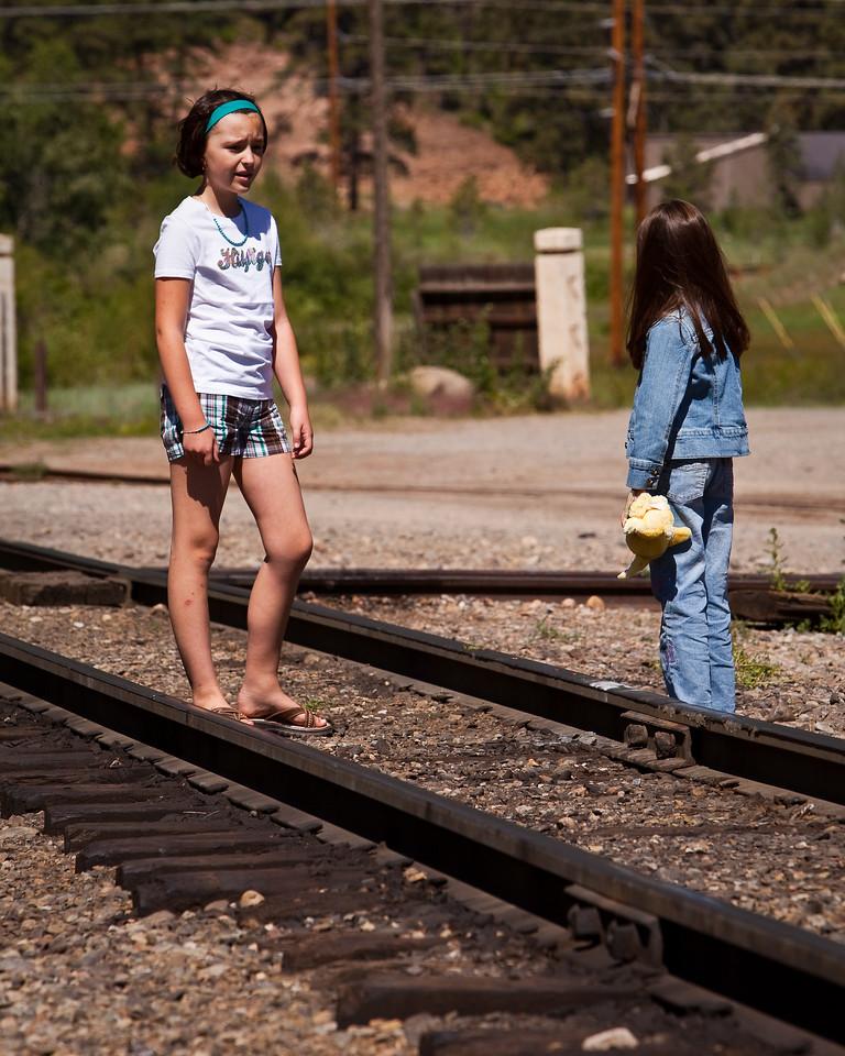 The Durango Silverton Train Line in Durango, Colorado.