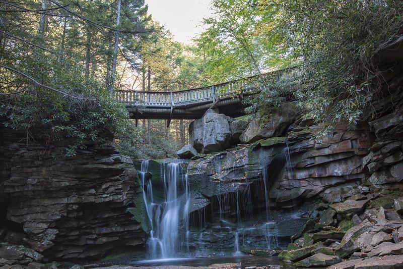 Bridge Over Main Falls