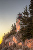 Bass Harbor Head Lighthouse Sunset