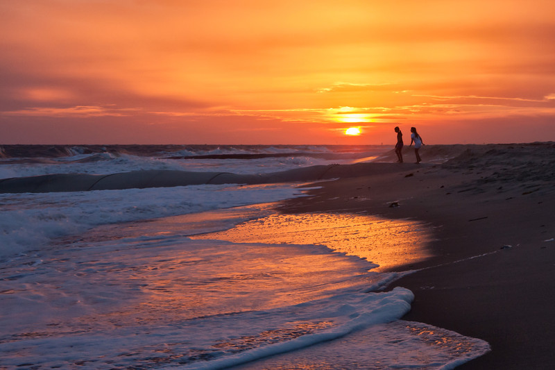 Sunset Walk, Bald Head Island
