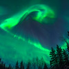 Spirits in the Sky, Aurora Borealis, Fairbanks Alaska