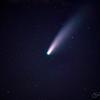 Neowise Comet Telephoto View AZ