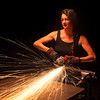 """<b>""""SPARKMAKER""""</b>  Minneapolis, Minnesota  Heather Doyle, Artistic Director at the Chicago Avenue Fire Arts Center in Minneapolis, is, quite simply, a badass."""