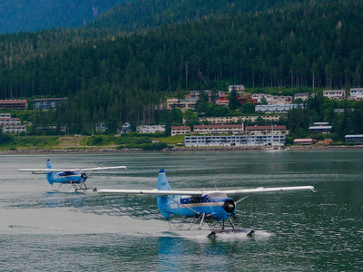 "Alaska Sea planes.  Please leave comments and give your favorite photos the ""Thumbs Up"" by mousing over the image and selecting the green hand!"