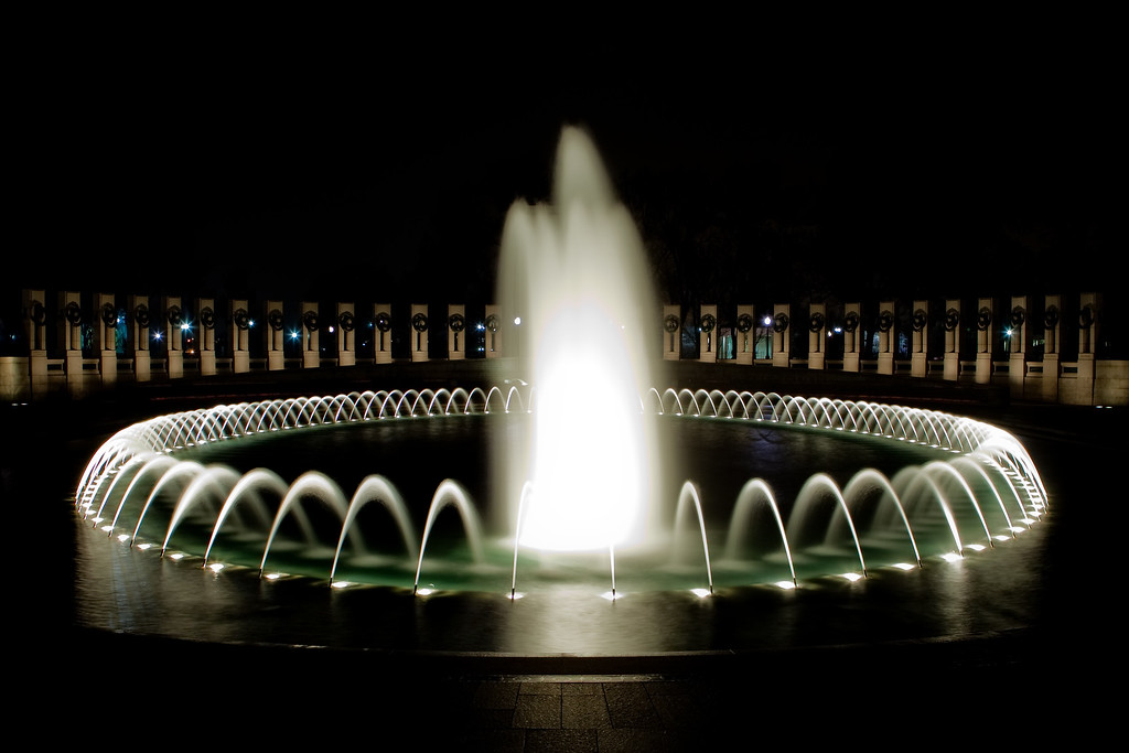 "Washington DC Memorial Fountain  Please leave comments and give your favorite photos the ""Thumbs Up"" by mousing over the image and selecting the green hand!"