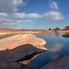 Dolphin Rock, West Canyon Lake Powell Utah