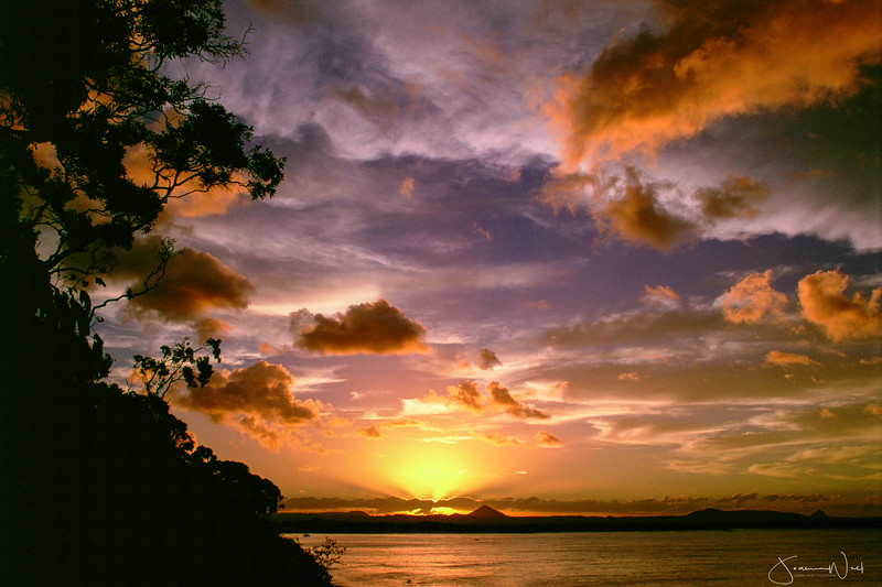Sunset Noosa Heads, Queensland Australia