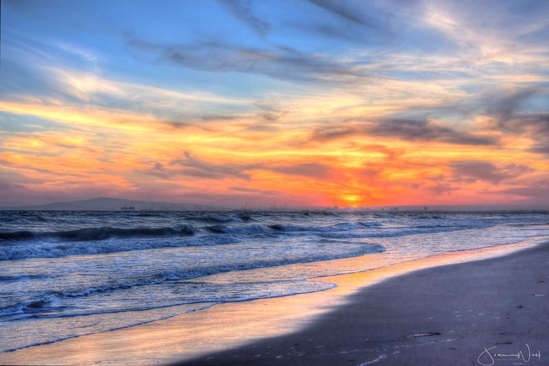 Sunset on Sunset Beach CA