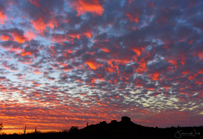 Clouds of Fire,  Papago Mountains Phoenix AZ