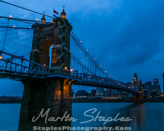 Cincinnati's Roebling Suspension Bridge