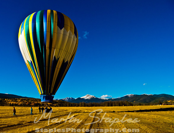 Colorado Balloon Ride