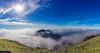 Caher Mountain - Peeking Through The Clouds