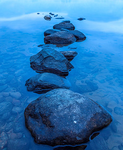 Stepping Stones at Muckross Lake