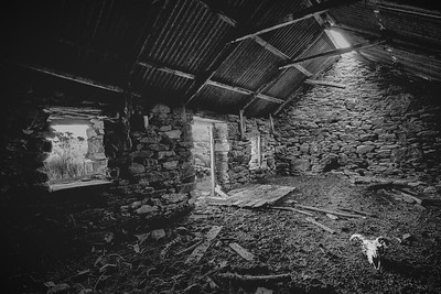 Abondoned Cottage - The Black Valley
