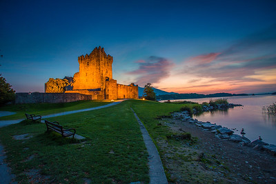 Ross Castle After Sunset