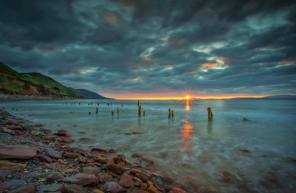 Rossbeigh Beach at Sunset
