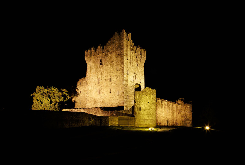 Ross Castle Night