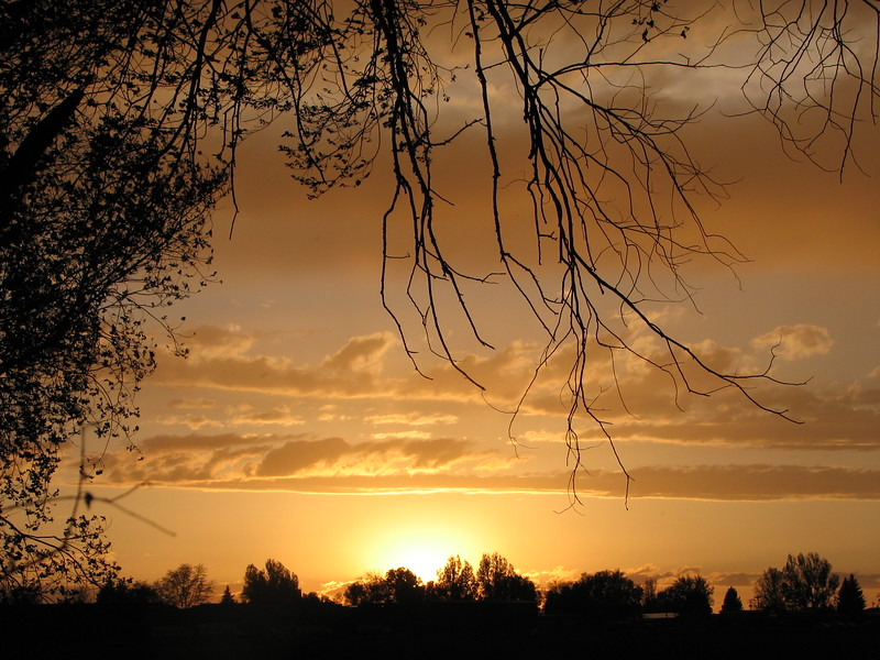 Northern Plains Sunset