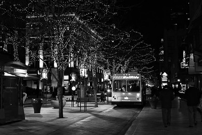 16th Street Mall at Christmas