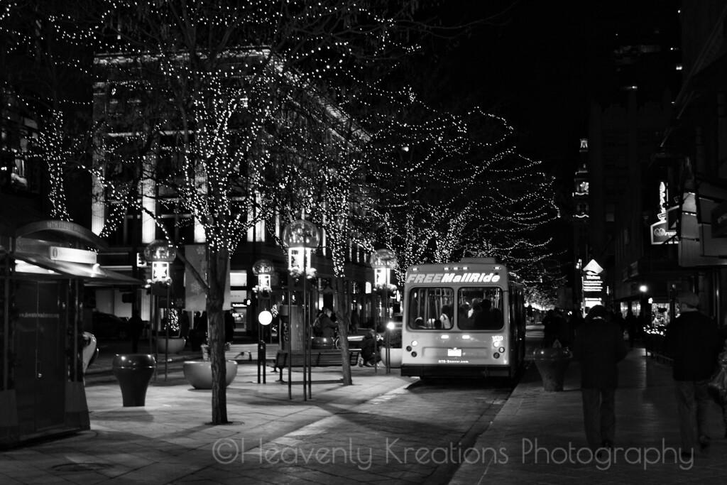 16th Street Mall at Christmas