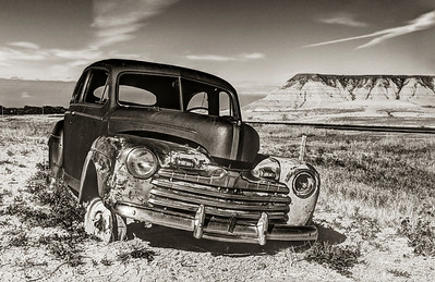 Abandoned in the Badlands