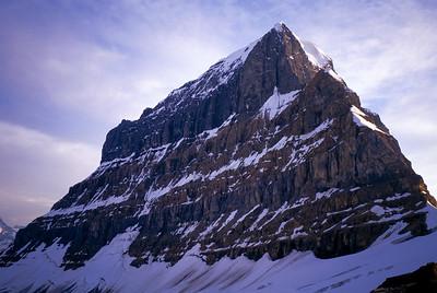 Mount Alberta, Jasper National Park, Alberta.