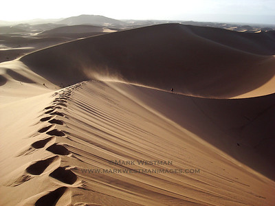 Erg Chigaga sand dunes, Morocco.