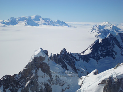 The Southern Patagonia Icecap from high on Cerro Torre.