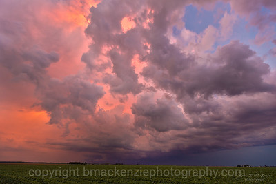 Midwest Stormy Sunset