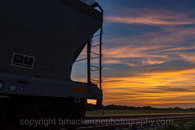 Railway Sunset
