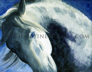 H38 BLUE EYES GICLEE